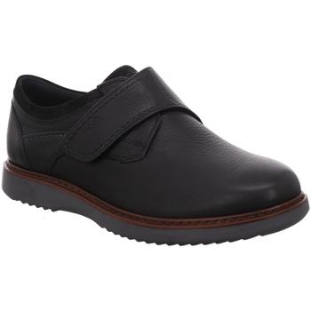 Schuhe Herren Derby-Schuhe Sioux Slipper 37242 Uras-701K schwarz