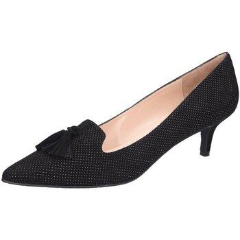 Schuhe Damen Pumps Brenda Zaro Elise Übergröße LS3469 schwarz