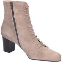 Schuhe Damen Low Boots Brenda Zaro Stiefeletten LS3003 grau