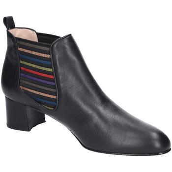 Schuhe Damen Low Boots Brenda Zaro Stiefeletten Lagobo LS1758 schwarz