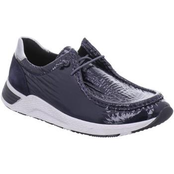 Schuhe Damen Derby-Schuhe Sioux Schnuerschuhe 7164663 blau