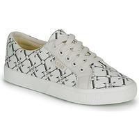 Schuhe Damen Sneaker Low Lauren Ralph Lauren JAYCEE NE SNEAKERS VULC Creme