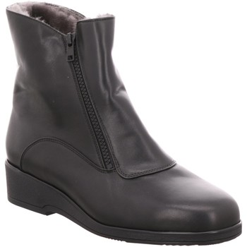 Schuhe Damen Low Boots Semler Stiefeletten SOFT-NAPPA S17464012/001 schwarz