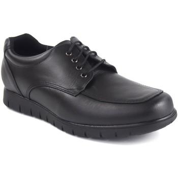 Schuhe Herren Derby-Schuhe Duendy 1002 schwarz Schwarz