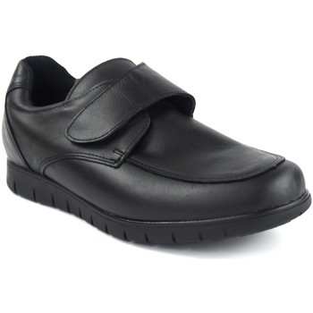 Schuhe Herren Slipper Duendy 1006 schwarz Schwarz