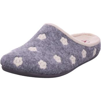 Schuhe Damen Hausschuhe Cima - 6680-0133 grau