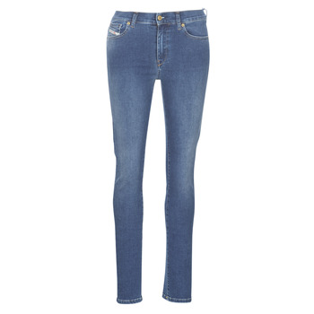 Kleidung Damen Slim Fit Jeans Diesel D-ROISIN Blau