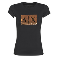 Kleidung Damen T-Shirts Armani Exchange HONEY Schwarz