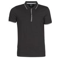 Kleidung Herren Polohemden Armani Exchange HANEMO Schwarz