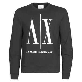 Kleidung Herren Sweatshirts Armani Exchange HELIX Schwarz