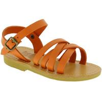 Schuhe Mädchen Sandalen / Sandaletten Attica Sandals HEBE CALF ORANGE arancio