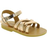 Schuhe Mädchen Sandalen / Sandaletten Attica Sandals HEBE CALF GOLD PINK Oro rosa
