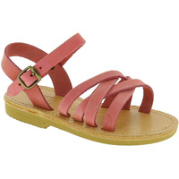 Schuhe Mädchen Sandalen / Sandaletten Attica Sandals HEBE NUBUK PINK Rosa chiaro