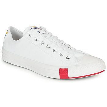 Schuhe Sneaker Low Converse CHUCK TAYLOR ALL STAR LOGO STACKED - OX Weiss