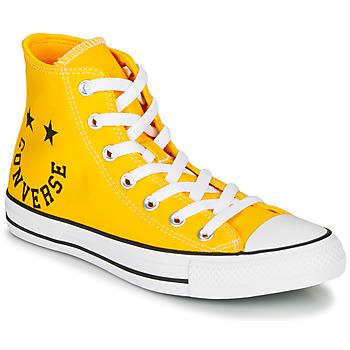 Schuhe Sneaker High Converse CHUCK TAYLOR ALL STAR - HI Gelb