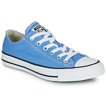 Schuhe Damen Sneaker Low Converse Chuck Taylor All Star Seasonal Color Blau