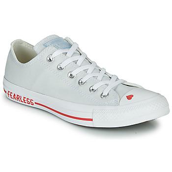 Schuhe Damen Sneaker Low Converse CHUCK TAYLOR ALL STAR LOVE CANVAS - OX Weiss / Rot