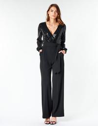 Kleidung Damen Overalls / Latzhosen Lauren Ralph Lauren Alexis Schwarz