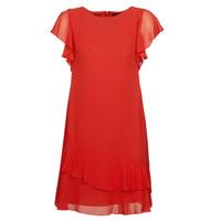 Kleidung Damen Kurze Kleider Lauren Ralph Lauren Arolde Rot