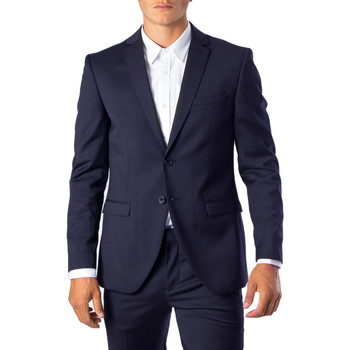 Kleidung Herren Jacken / Blazers Selected 16066442 Blu