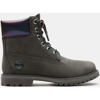 Schuhe Damen Low Boots Timberland 6in prm Grau