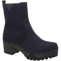 Schuhe Damen Boots Softclox Stiefeletten Insa 3491 blau