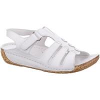 Schuhe Damen Sandalen / Sandaletten Gemini Sandaletten 032006 offwhite weiß