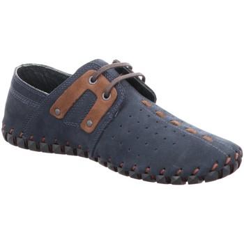 Schuhe Herren Derby-Schuhe Gemini Schnuerschuhe NUBUK SCHNUERSCHUH 032600-03/083 083 blau