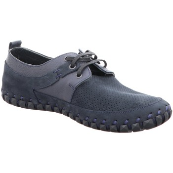 Schuhe Herren Derby-Schuhe Gemini Schnuerschuhe 32602 blau