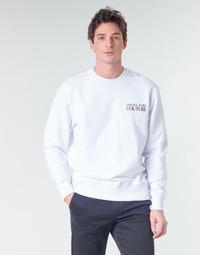 Kleidung Herren Sweatshirts Versace Jeans Couture B7GVA7FB Weiss