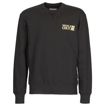 Kleidung Herren Sweatshirts Versace Jeans Couture B7GVA7FB Schwarz / Gold