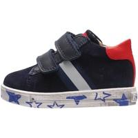 Schuhe Jungen Sneaker Falcotto - Sneaker blu LERYN VL BLU