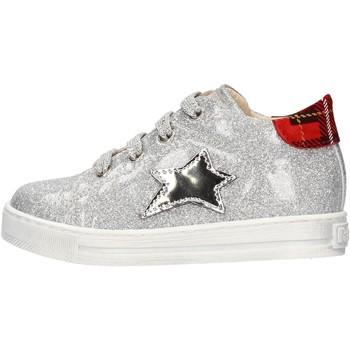 Schuhe Jungen Sneaker Falcotto - Polacchino argento SASHA ARGENTO