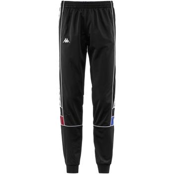 Kleidung Jungen Jogginghosen Kappa - Pantalone nero 303LP70-A39 NERO