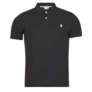 Kleidung Herren Polohemden U.S Polo Assn. INSTITUTIONAL POLO Schwarz