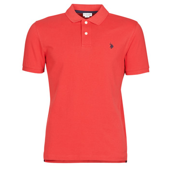 Kleidung Herren Polohemden U.S Polo Assn. INSTITUTIONAL POLO Rot