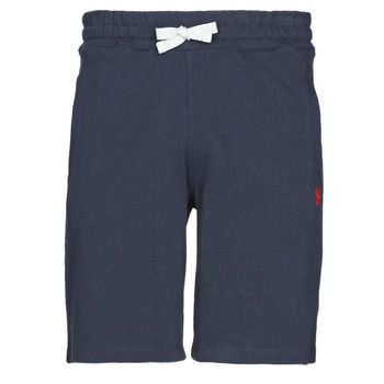 Kleidung Herren Shorts / Bermudas U.S Polo Assn. TRICOLOR SHORT FLEECE Marine