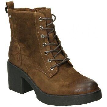 Schuhe Damen Low Boots MTNG 50495 Marron