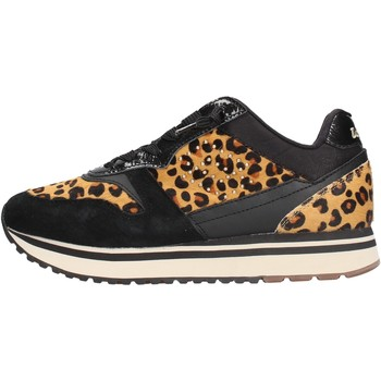 Schuhe Damen Sneaker Low Lotto - Slice animalier nero 212426-1CL NERO