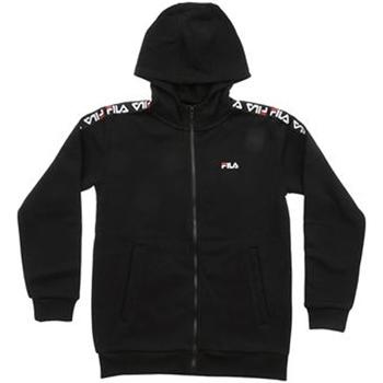 Kleidung Jungen Sweatshirts Fila - Felpa zip nero 687264-002 NERO