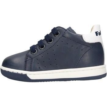 Schuhe Jungen Boots Falcotto - Polacchino blu ADAM BLU