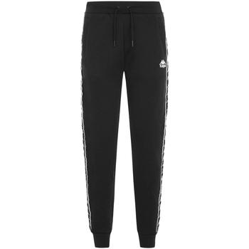 Kleidung Jungen Jogginghosen Kappa - Pantalone nero 304KPN0 J-929 NERO