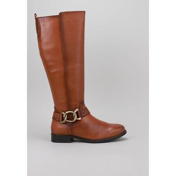 Schuhe Damen Boots Lol 4017 Beige