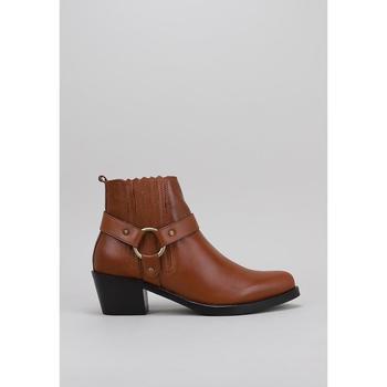 Schuhe Damen Ankle Boots Lol 6001 Braun