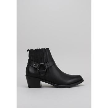 Schuhe Damen Ankle Boots Lol 6001 Schwarz