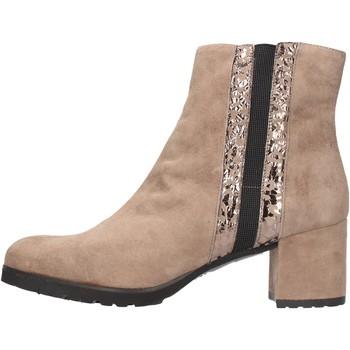 Schuhe Damen Low Boots Grunland - Tronchetto taupe PO1459-81 BEIGE