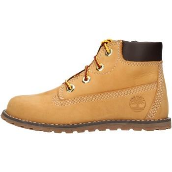 Schuhe Jungen Boots Timberland - Polacchino giallo 0A125Q GIALLO