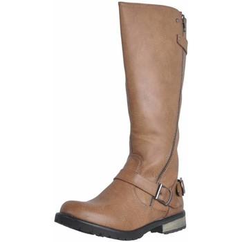 Schuhe Damen Klassische Stiefel MTNG 55682 Brown