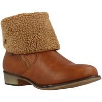 Schuhe Damen Low Boots MTNG 55696 Brown