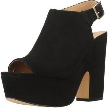 Schuhe Damen Sandalen / Sandaletten Be Different Be Yellow SWALLOW Schwarz